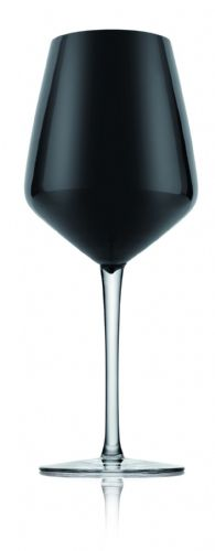 Dion Wine Glass Black  - 6 Pieces